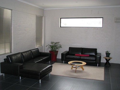 Dunkley House - living room