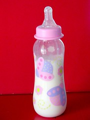 drinkware, bottle, plastic bottle, baby bottle, pink, baby products,