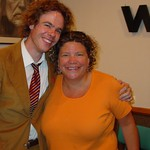 Josh Ritter with Rita Houston at WFUV