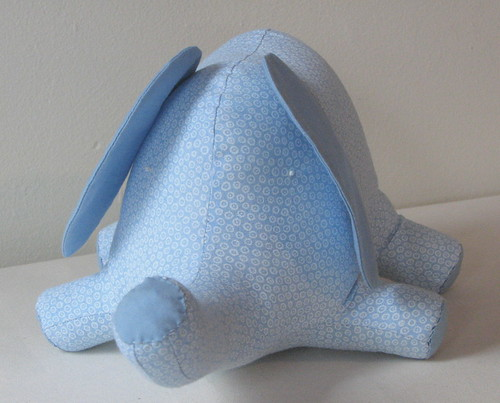 Dapper Blue Personalized Elephant
