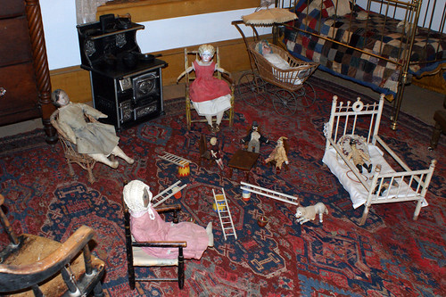 Antique Toys at Plaza Hall