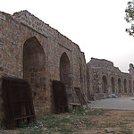 Purana Qila, interior wall