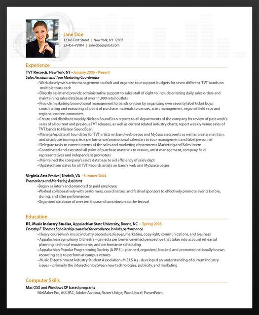 resumebear online resume music theme sample explore musician resume template - Musicians Resume Template