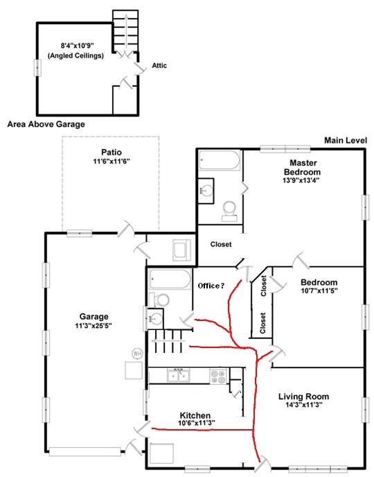 recommend ways to maximize awkward floor plan   u2014 good