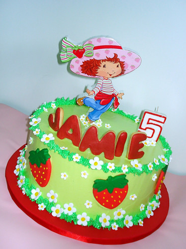 Strawberry Shortcake cake | Flickr - Photo Sharing!
