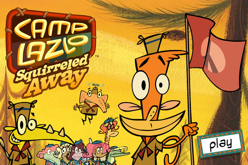 Camp lazlo squirreled away commande pour cartoon network