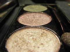 powder, glitter, close-up, eye shadow, circle,