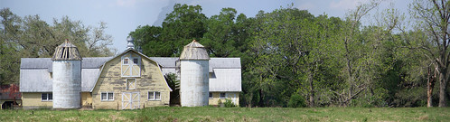 old panorama tree abandoned barn louisiana scenic silo 2008 grandcoteau 50692495