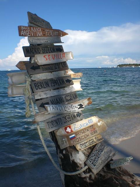 Cartel con distancias al mundo Punta Cana - 2510669541 24615c497a z - Punta Cana, paraíso terrenal donde nace el sol
