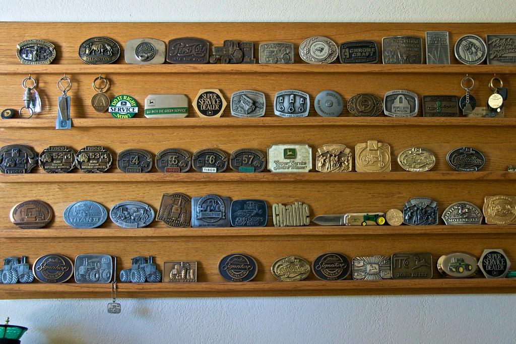 John Deere Belt Buckle Collection