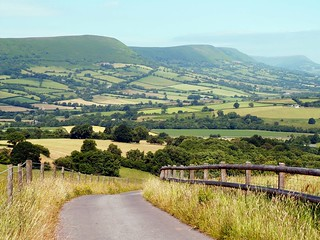 A Landscape of Wales and England Border