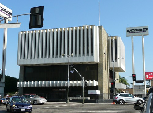Los Angeles, CA Mid-century Modern bank (Columbia Savings)