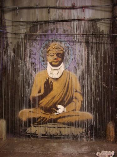 Buddha in Neck Brace