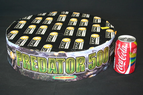 Epic Fireworks  - Predator 500 Shot Barrage