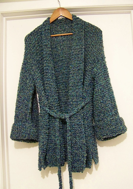 Sweater Pattern Knitting Loom - Long Sweater Jacket