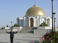 building, landmark, mosque, place of worship, chapel, dome,