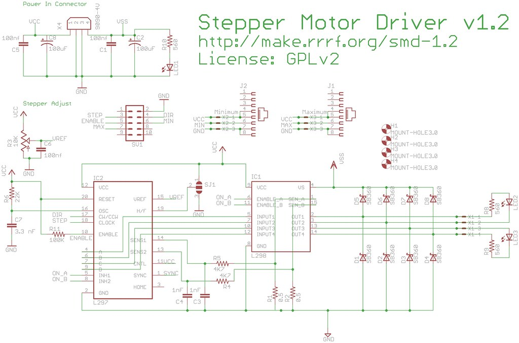 Steppermotor control parallax forums for Stepper motor control software