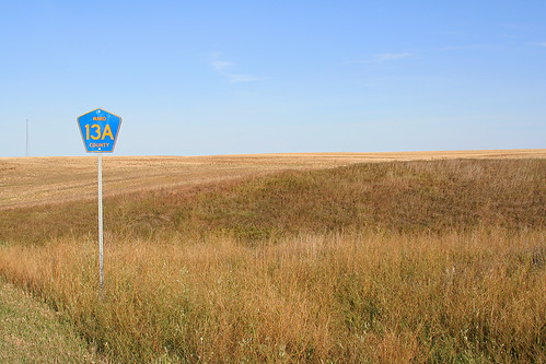field sign scenery northdakota treeless