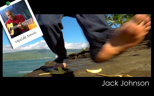 how to play jack johnson upside down on guitar