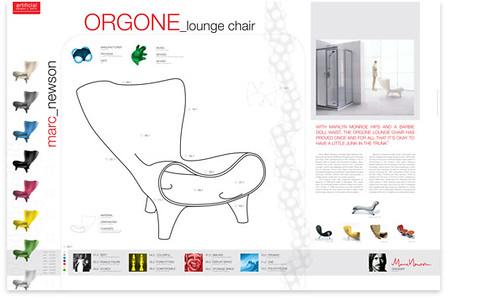 Marc Newson Orgone Info Poster