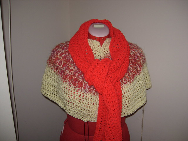 April Draven: Sweet November Scarf/Shawl Free Crochet Pattern