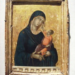 Madonna and Child by Duccio di Buoninsegna