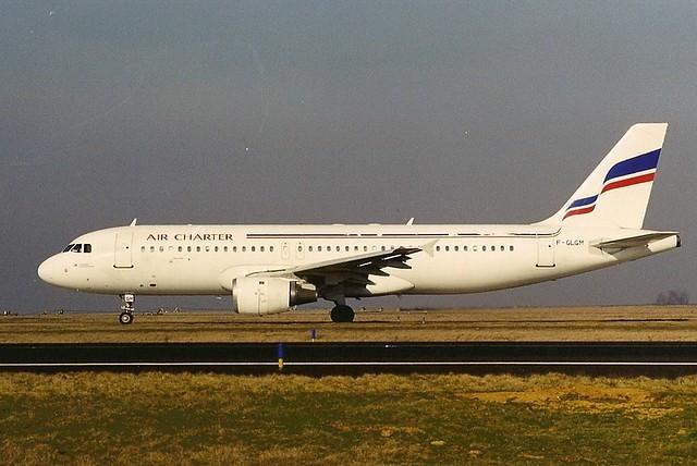 Air Charter A320 F-GLGM