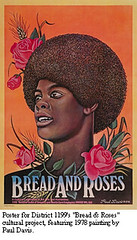 """Bread & Roses"" Poster for District 1199, 1978"