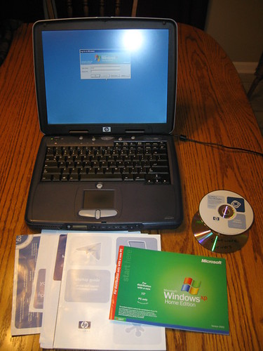 HP Pavilion N5425 Laptop - Windows XP