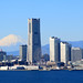 Mt. Fuji from Yokohama