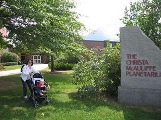 The Christa McAuliffe Planetarium, NH