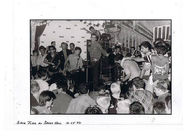 Black Flag at Baces Hall 1980....!