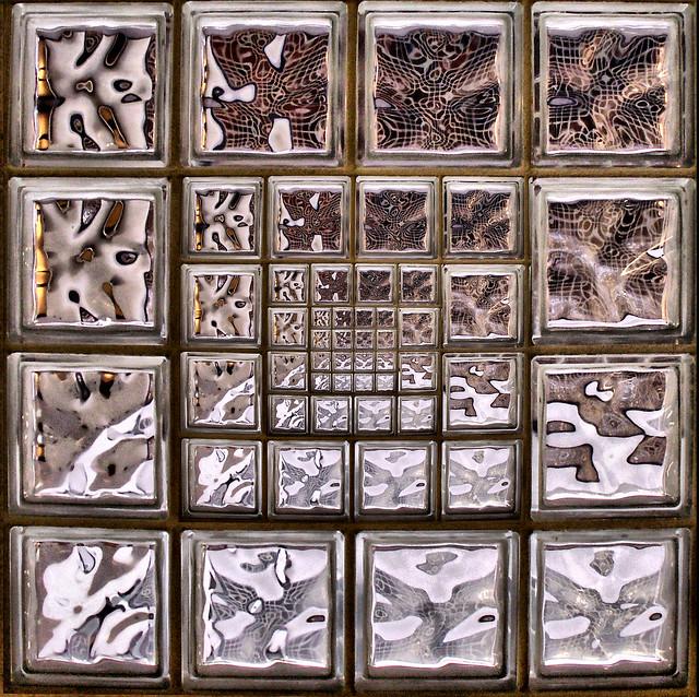 Ladrillos de vidrio una proyecci n glass bricks a - Ladrillos de cristal ...