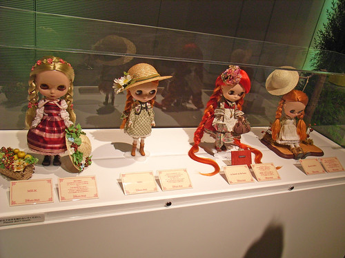 Celebrity Dolls 'Anne of Green Gables' theme at the A Wonder World exhibition Omotesando Hills, Tokyo