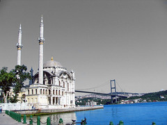 Ortakoy - Mecidiye Mosque & Bosphorus Bridge
