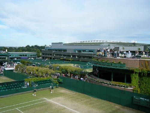 Wimbledon 2008 View From The Ticket Resale Queue By Catherine Murray Flickr Photo Sharing