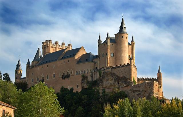El Alcázar de Segovia. España.