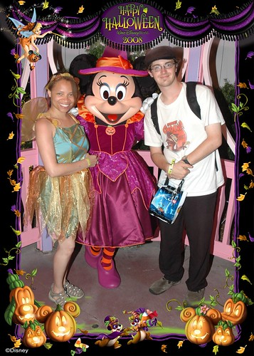 Us with Witch Minnie