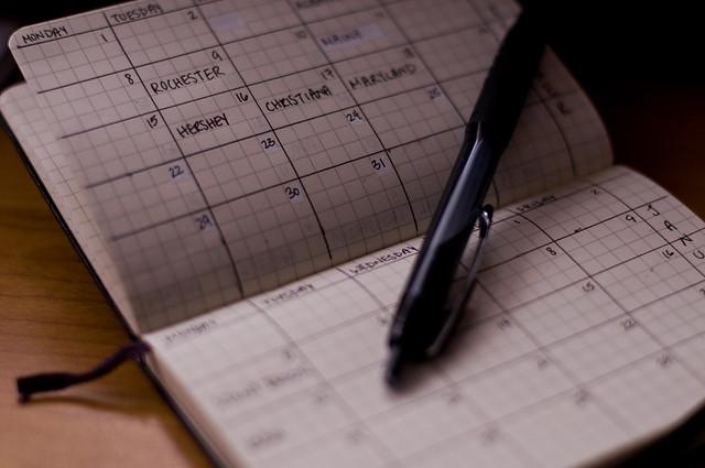 Scheduling in a Calendar