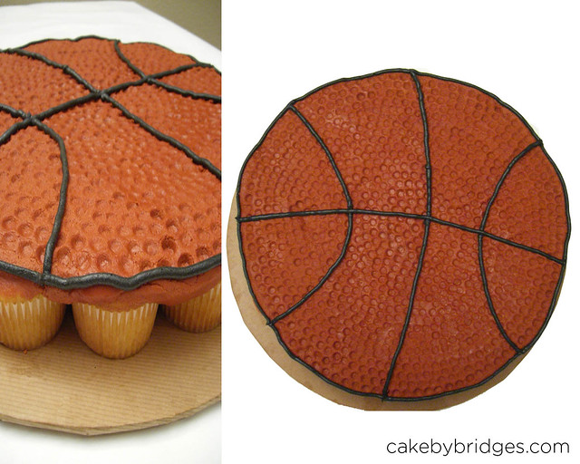 how to make a basketball jersey cake