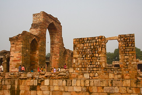 Ruins of Qutb Minar