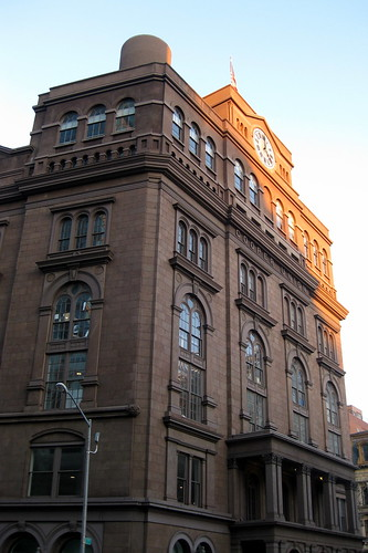 NYC - East Village: The Cooper Union Foundation Building