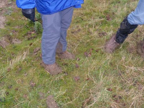 Mud, boots