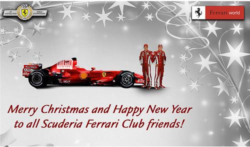 Merry christmas scuderia ferrari flickr photo sharing for Ferrari christmas
