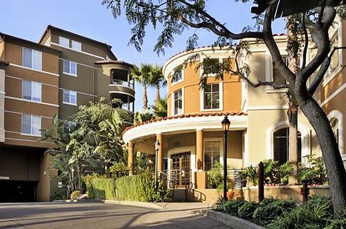 La Hollywood Ca Villas At Park La Brea Apartments
