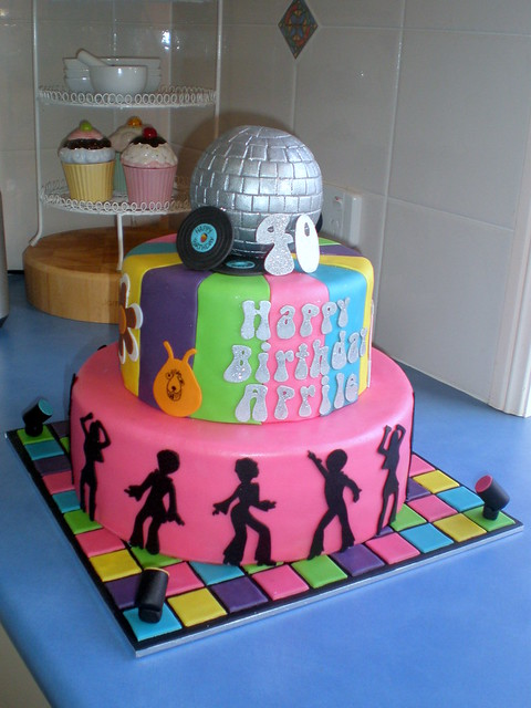 Disco Party Cake Images : Cake - 70 s Disco 05 Flickr - Photo Sharing!