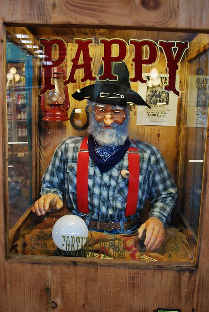 Pappy Vintage Style Fortune Telling Machine Flickr