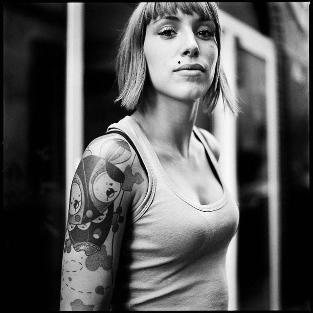 Portrait de rue - Tattoo, percing, etc.