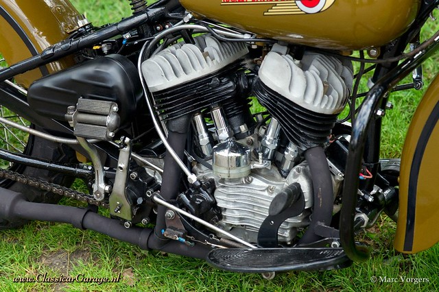 1942 Harley Davidson WLC flathead engine | Flickr - Photo Sharing!