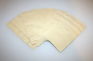 17 - Zutat Lasagneplatten / Ingredient lasagna sheets